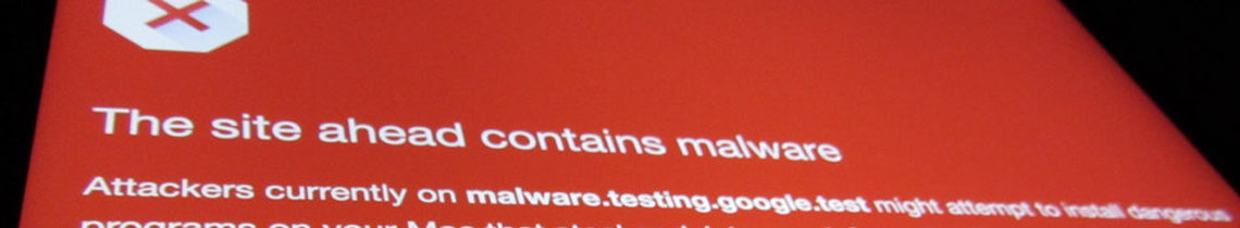 Help! My computer has malware on it!